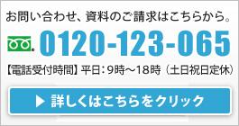 お問い合わせは0120-123-065